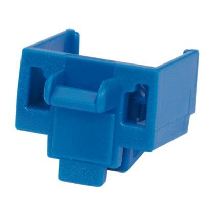 Panduit Bloqueador RJ-45, Azul, 100 Piezas