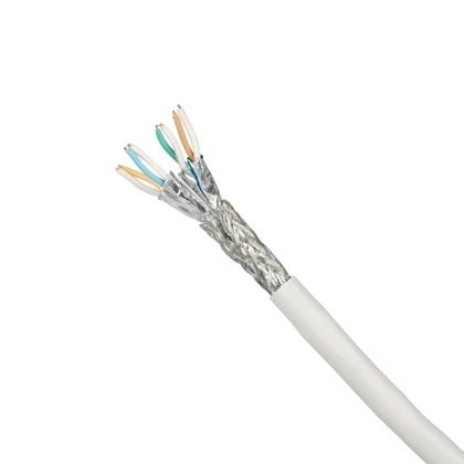 Panduit Bobina de Cable Cat7, S-FTP, 500 Metros, Blanco