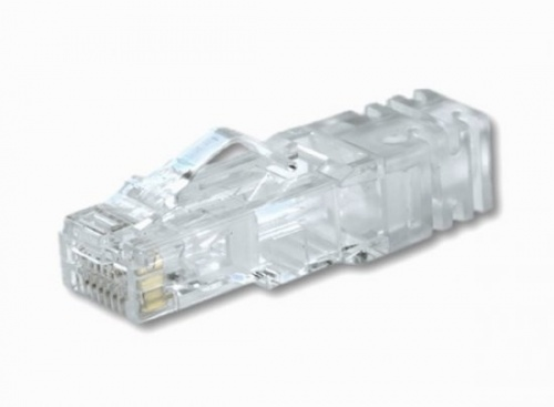 Panduit Conector Cat6 RJ-45 de 8 Posiciones, Transparente, Paquete de 100 Piezas
