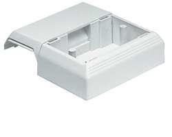 Panduit Caja de Compensación para Placas Frontales, Blanco