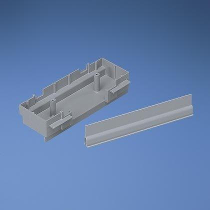 Panduit Caja Colgante TG-70 con Muro Divisor, Gris