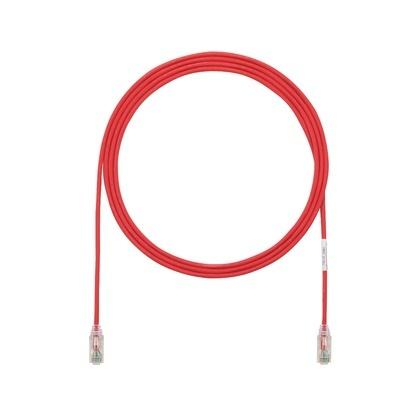 Panduit Cable Patch Cat6 UTP RJ-45 Macho - RJ-45 Macho, 20cm, Rojo