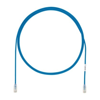 Panduit Cable Patch Cat6a UTP RJ-45 Macho -  RJ-45 Macho, 3 Metros, Azul