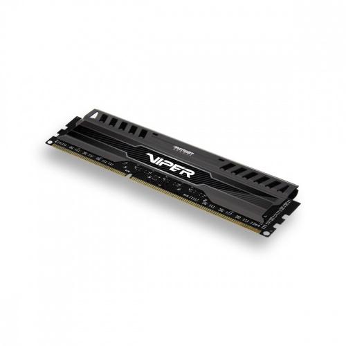Memoria RAM Patriot Viper 3 Black Mamba DDR3, 1600MHz, 8GB, Non-ECC, CL10