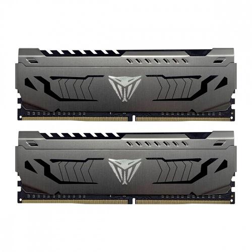 Kit Memoria RAM Patriot Viper Steel DDR4, 3200MHz, 16GB (2x 8 GB), Non-ECC, CL16