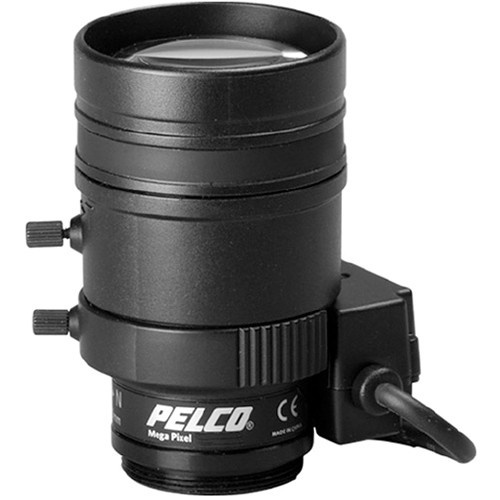 Pelco Lente SLR, 3MP, 2.8-8mm, F/1.2-1.9, Negro