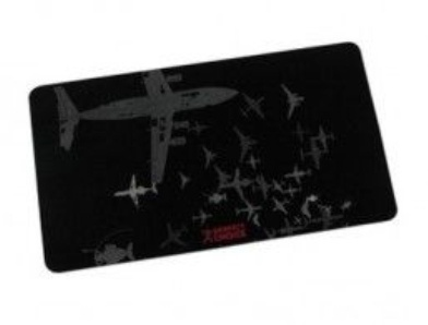 Mousepad Perfect Choice PC-041733, 27.5x16cm, 0.5mm, Negro