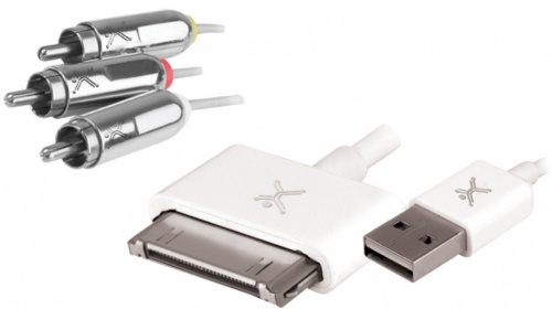 Perfect Choice Cable USB - 3x RCA, 1.5 Metros, para iPod/iPhone/iPad