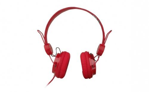 Perfect Choice PC-116257 B&F Audífonos, Alámbrico, Rojo