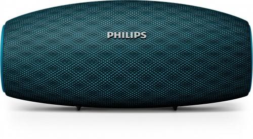 Philips Bocina Portátil BT6900A/00, Bluetooth, Inálambrico, 10W RMS, USB, Azul - Resitente al Agua