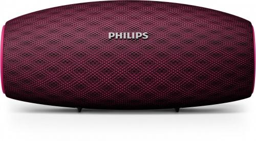 Philips Bocina Portátil BT6900P/00, Bluetooth, Inalámbrico, 10W RMS, USB, Rosa - Resistente al Agua