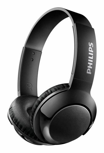 Philips Audífonos SHB3075BK/00, Bluetooth, Inalámbrico, USB, Negro