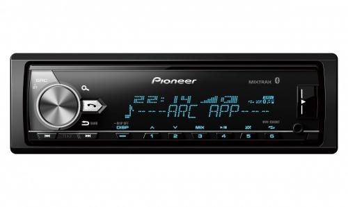 Pioneer Autoestéreo MVH-X585BT, 88W, FLAC/MP3/WAV/WMA, Bluetooth/USB/CD, Negro