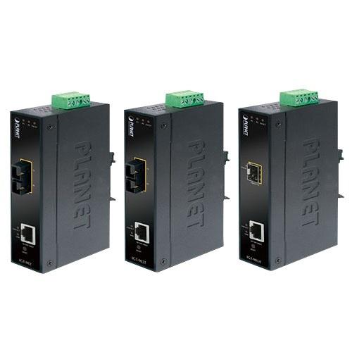Planet Convertidor de Medios Gigabit Ethernet a Fibra Óptica LC, 2000 Mbit/s