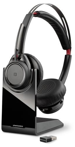 Plantronics Audífonos Voyager Focus UC B825, Bluetooth, Alcance de 45m, Negro