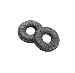 Poly Almohadillas de Polipiel para SupraPlus, 2 Piezas, Negro