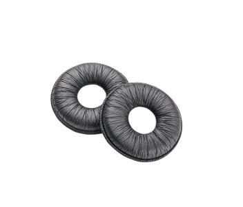 Poly Almohadillas de Cuero para Poly, 2 Piezas, Negro