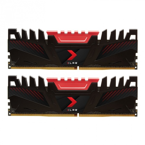 Kit Memoria RAM PNY XLR8 DDR4, 3200MHz, 16GB (2 x 8GB), Non-ECC, CL16, XMP, 1.35V