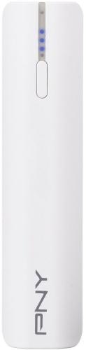 Cargador Portátil PNY PowerPack T2200, 2200mAh, Blanco