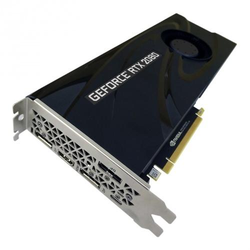 Tarjeta de Video PNY NVIDIA GeForce RTX 2080 Blower, 8GB 256-bit GDDR6, PCI Express x16 3.0 ― ¡Compra y recibe Wolfenstein: Youngblood! (un código por cliente)