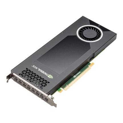 Tarjeta de Video PNY NVIDIA NVS 810 para 8 Monitores, 4GB 128-bit DDR3, PCI Express 3.0 x16