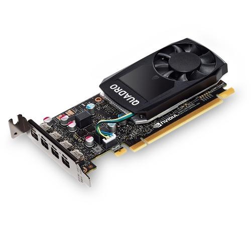 Tarjeta de Video PNY NVIDIA Quadro P600, 2GB 128-bit GDDR5, PCI Express 3.0- incluye Adaptador Mini DisplayPort - DisplayPort y Mini DisplayPort - DVI-D SL