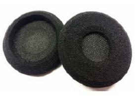Poly Almohadillas para EncorePro HW510/HW520, Negro, 25 Piezas
