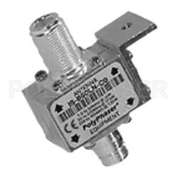 PolyPhaser Protector Coaxial Clase N RF Hembra - RF Hembra, Acero Inoxidable