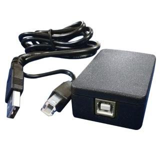 POSline Adaptador de Cable RJ-11 Macho - USB Macho, Negro