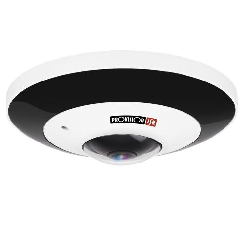 Provision-ISR Cámara IP Fisheye IR para Interiores/Exteriores FEI-360IP5, Alámbrico, 3096 x 2196 Pixeles, Día/Noche
