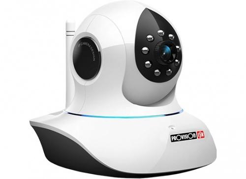 Provision-ISR Cámara Smart WiFi Domo IR PT-737, 1280 x 720 Pixeles, Inalámbrico, Día/Noche