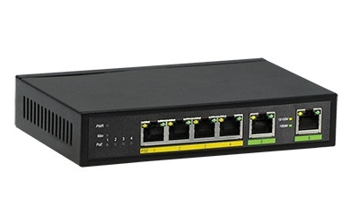 Switch Provision-ISR Gigabit Ethernet PoES-0460G+2G PoE, 4 Puertos 10/100/1000Mbps - No Administrable