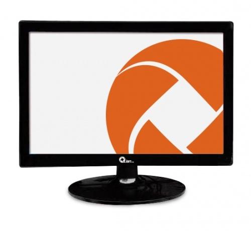 Monitor Qian QM1538001 LED 15.4'', HD+, Widescreen, Negro