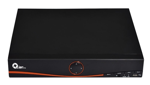 Qian DVR de 4 Canales YAO DVR para 1 Disco Duro, máx. 6TB, 1x USB 2.0, 1x RJ-45
