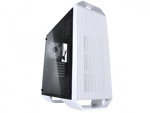 Gabinete Raidmax Monster II con Ventana, Midi-Tower, ATX/Micro-ATX/Mini-ATX, USB 3.0, sin Fuente, Blanco