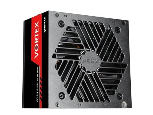 Fuente de Poder Raidmax Vortex 80 PLUS Bronze, 20+4 pin ATX, 120mm, 700W
