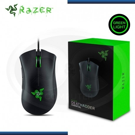 Mouse Gamer Razer Óptico DeathAdder Essential, Alámbrico, USB, 6400DPI, Negro