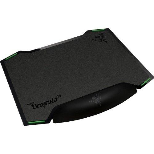Mousepad Gamer Razer Vespula con Descansa Muñecas, Negro