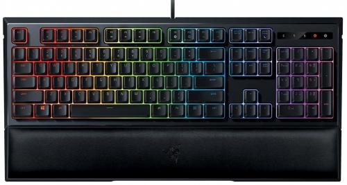Teclado Gamer Razer Ornata Chroma RGB, Teclado Mécanico, Alámbrico, Negro (Español)