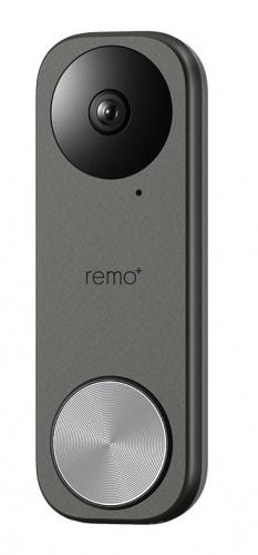 Remo+ Videoportero RemoBell S, Altavoz, Inalámbrico, Gris
