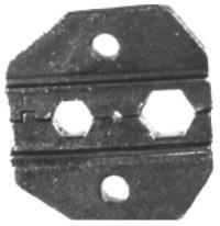 RF Industries Pinzas Crimpadoras RFA-4005-04, RG-58/U/RG-59/U/RG-62/U, Negro