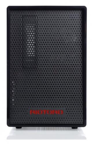 Gabinete Riotoro CR1080 con Ventana, Tower, ATX/Micro-ATX/Mini-ITX, USB 3.0, sin Fuente, Negro