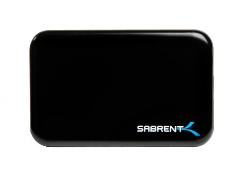 Sabrent Gabinete para 1 Disco Duro, 2.5'', SATA III, USB 2.0/3.0, Negro