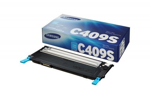 Toner Samsung C409S Cyan, 1000 Páginas