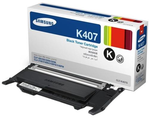 Tóner Samsung K407 Negro, 1500 Páginas