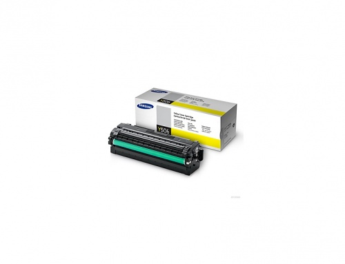 Tóner Samsung CLT-Y506L Amarillo, 3500 Páginas