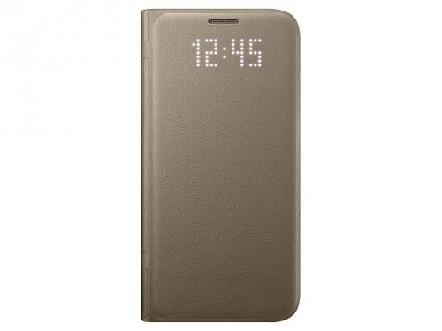 Samsung Funda Note7 LED View Cover para Galaxy Note 7, Oro