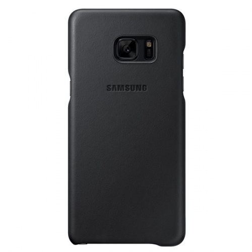 Samsung Funda Leather Cover para Galaxy Note 7, Negro