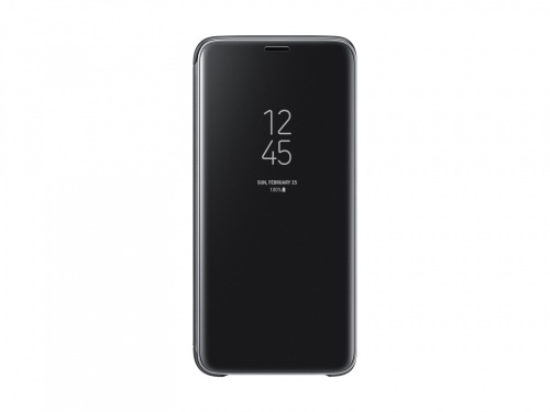 Samsung Funda S-View Cover para Galaxy S9, Negro