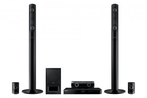 Samsung Home Theater J5530, Bluetooth, 5.1, 1000W RMS, 3D, HDMI, Blu-Ray Player Incluido